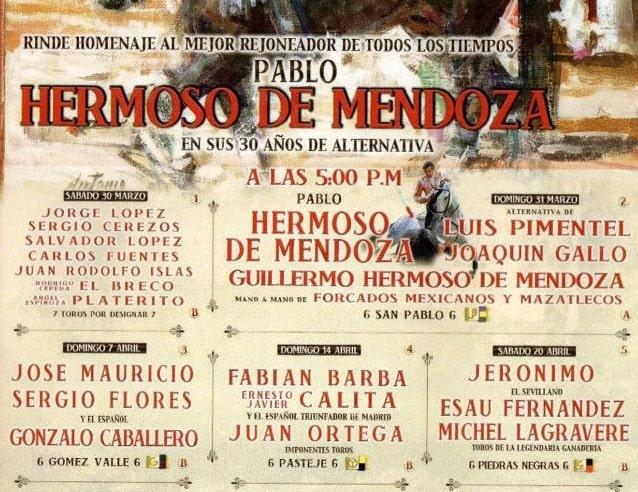 Corrida de Toros de la Feria de Texcoco 2019